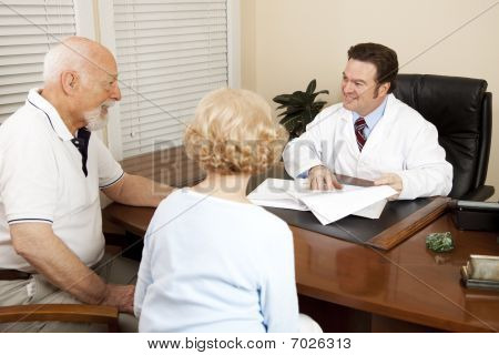 Doctor Discussing Treatment Plan