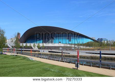 London - April 5. The Aquatics Centre At The New Queen Elizabeth Park On April 5, 2014