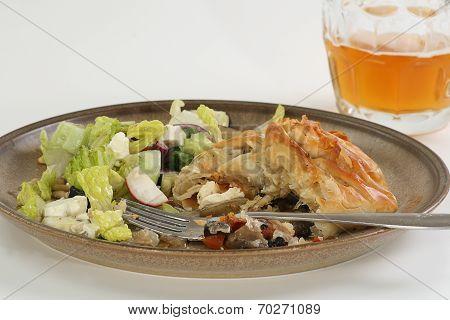 Vegetarian Filo Pastry Parcels