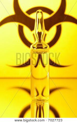 Biohazard And Ampule