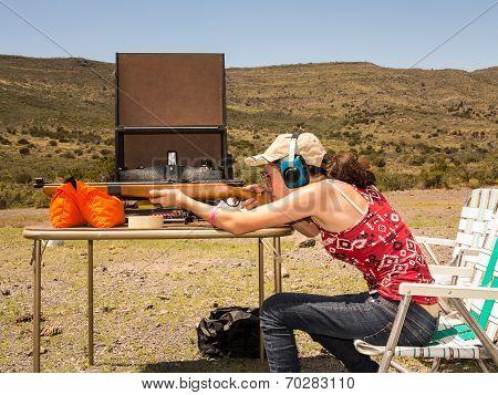 Teenage girl shooting