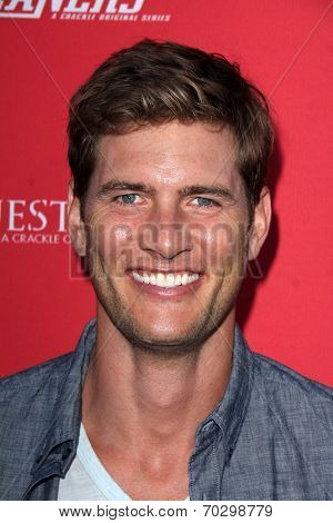 LOS ANGELES - AUG 14:  Ryan McPartlin at the Crackle Presents the Premieres of