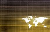 Global Partners in Export Trade Software Art poster