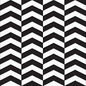 Chevron vector seamless pattern. Modern stylish texture. Repeating geometric tiles poster