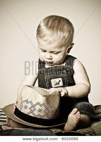 Boy Studying Hat
