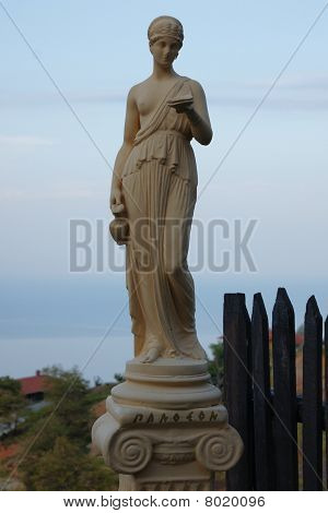 Ancient Greek statue replicate