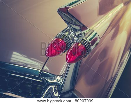 Retro Car Tailfin Detail