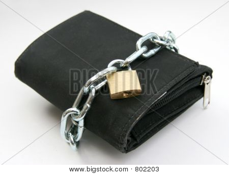 Purse with padlock 2