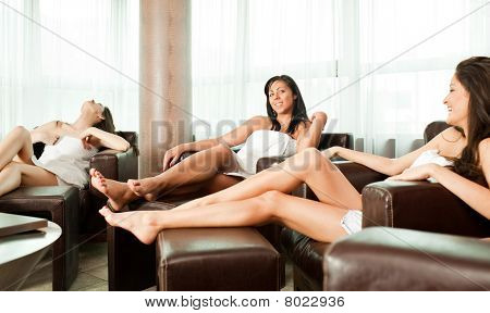 Women Relaxing
