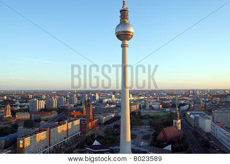 Berlin Skyline Sunset 2