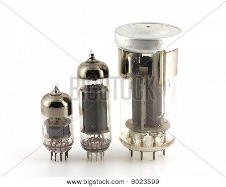 Three Old Triodes (valves).