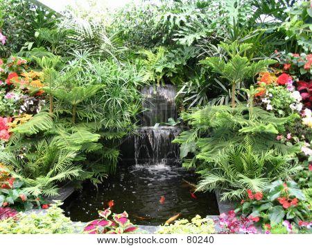 Mini Man-made Waterfall
