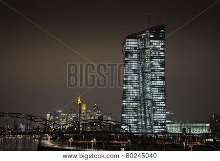 New Ecb In Frankfurt