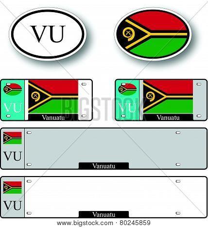 Vanuatu Auto Set