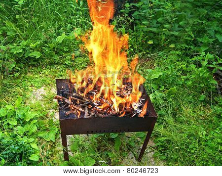 Fire In Barbecue