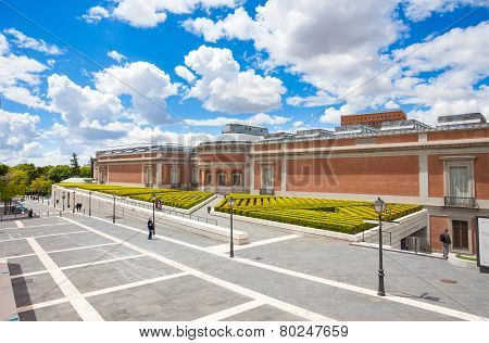 Prado National Art Museum In Madrid