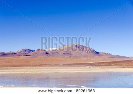 Laguna Verde, Eduardo Avaroa Andean Fauna National Reserve, Sur Lipez, Bolivia poster