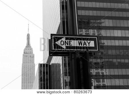Manhattan New York 8th Av NY city downtown NYC US
