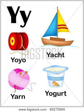 Alphabet Letter Y Pictures
