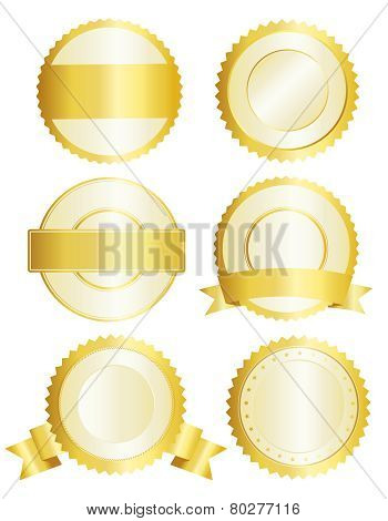 Gold Badges / Seal
