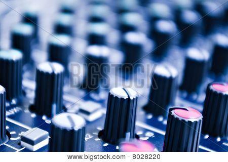 Audio Mixer Knobs