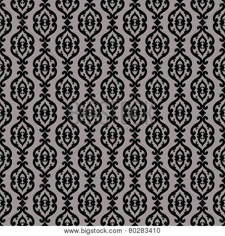 Elegant classic barocco seamless pattern
