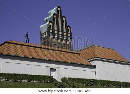 Balancing Man