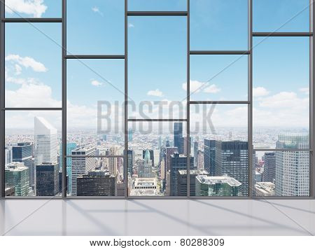 Office With Big Window