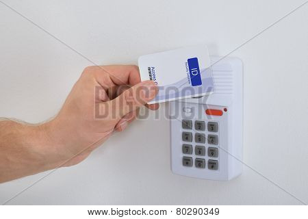 Using Security Card