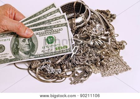 Cash For Your Silver Jewelry