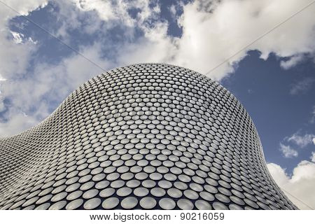Birmingham - England, May 3,2015:  World famous building housing Selfridges, there stores are known for architectural innovation and excellence and are tourist destinations in their own right