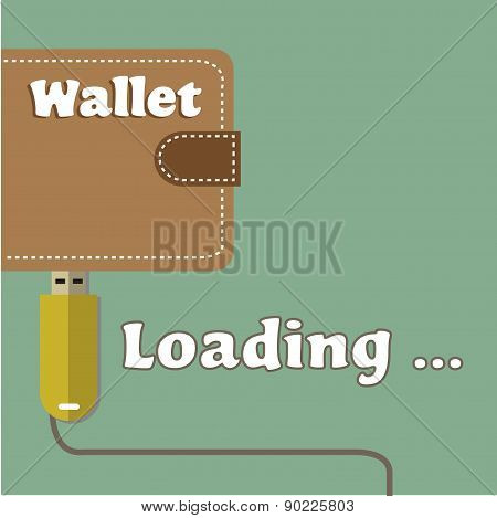 Loading wallet