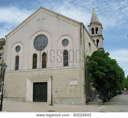 The church of Our Lady of Sinj in Croatia