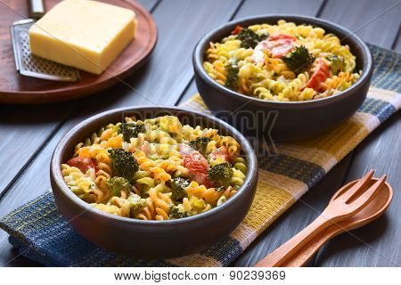 Pasta, Broccoli and Tomato Casserole
