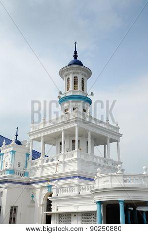 Minaret of The Sultan Ibrahim Jamek Mosque at Muar, Johor