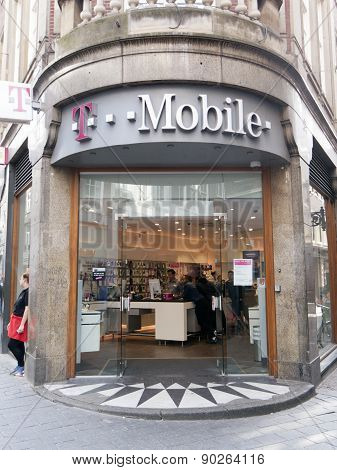 T-mobile Store In Amsterdam