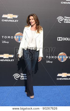 LOS ANGELES - MAY 9:  Cindy Crawford at the