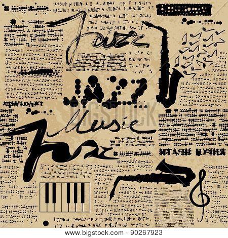 Newspaper Jazz