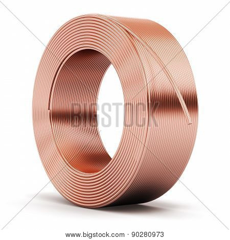 Hunk of copper cable