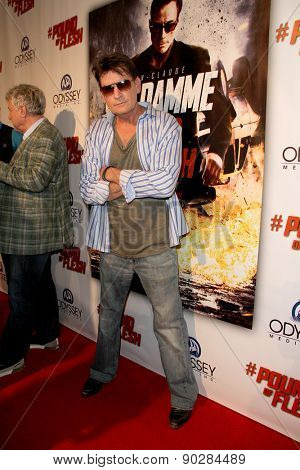 LOS ANGELES - MAY 7: Charlie Sheen attends the premiere of