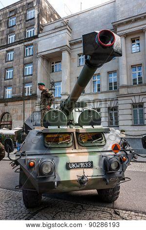 Dana 152, self propelled gun howitzer