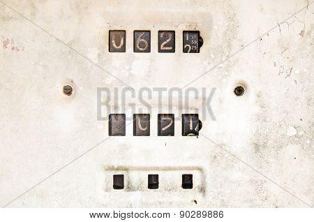 Old Rusty Petrol Meter Price