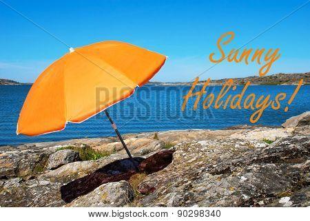 Swedish Coast With Sunny Holidays