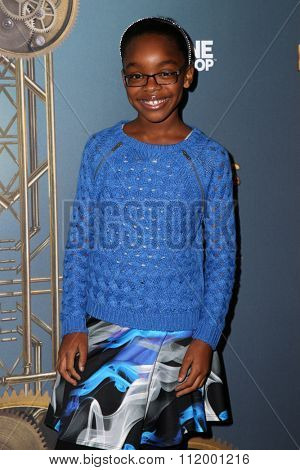 LOS ANGELES - DEC 09:  Marsai Martin at the Cirque Du Soleil's