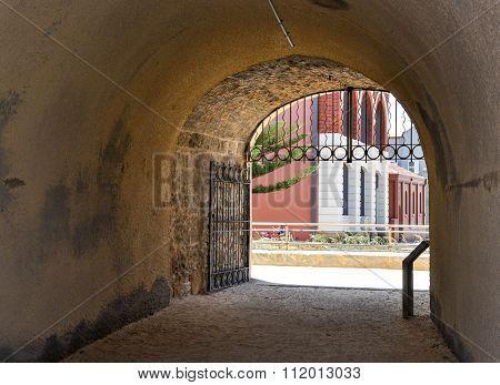View through the Whaler's Tunnel: Fremantle, Western Australia