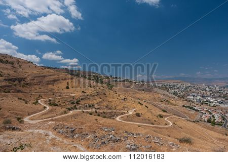 Tiberias - City In Israel On Shores Of Kinneret