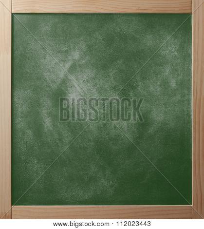 School Greenboard In Wooden Frame