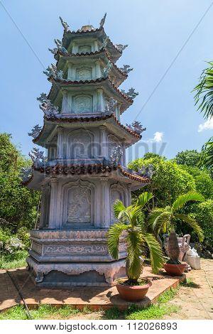 Tam Thai Pagoda In Marble Mountains,  Vietnam