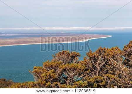 View From The Bluff Hill Lookout, Southland, New Zealand