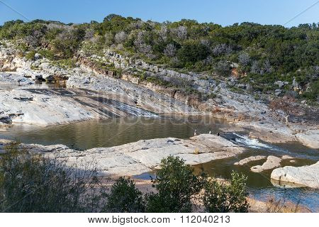 Pedernales Falls State Park, Hill Country,  Texas